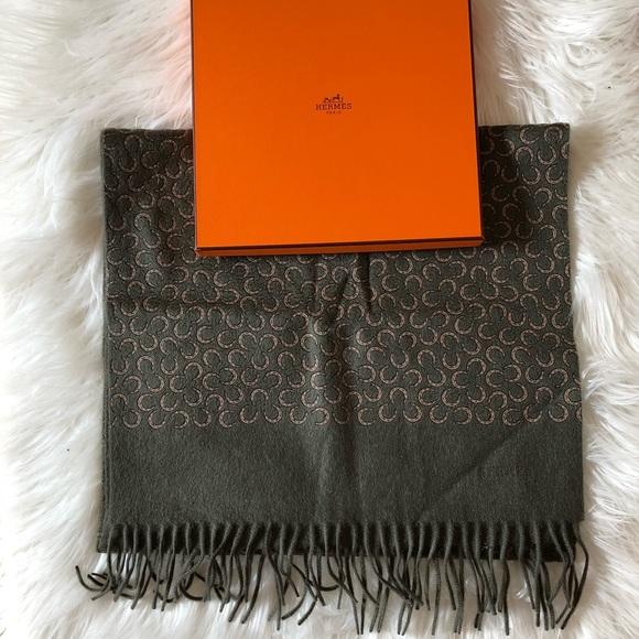 77505cff70ebb Hermes Accessories | Men Cashmere Scarf | Poshmark